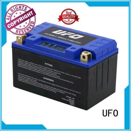 UFO New lithium motorcycle battery factory for sale
