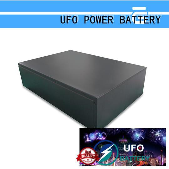 UFO lifepo4 motive battery factory for solar system telecommunication ups agv