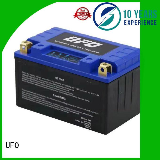 UFO motorcycle starter battery supplier