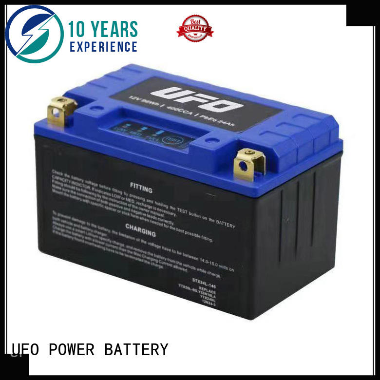 UFO lithium motorcycle battery for electric cars