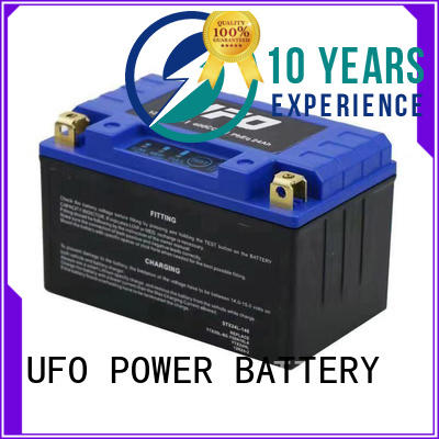 UFO well sealing motorcycle starter battery supplier for electric cars