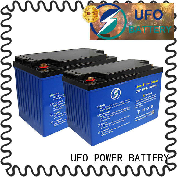 UFO customize 12 volt lifepo4 battery manufacturer for solar system Gel battery replacement