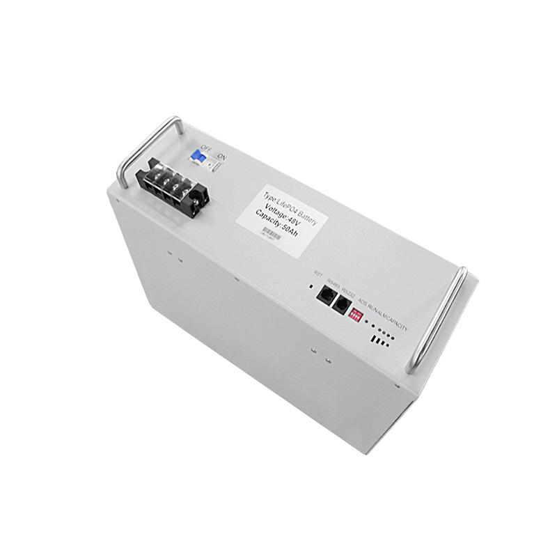 LiFePO4 telecom battery 48V50Ah 2.4KWh for solar system telecommunication UPS