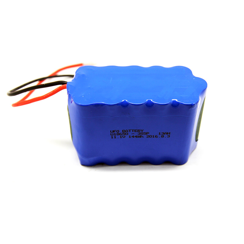 UFO  11.1V13Ah Lithium ion rechargeable battery pack  image1