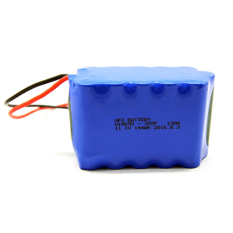 Lithium ion rechargeable battery pack 11.1V13Ah for small device