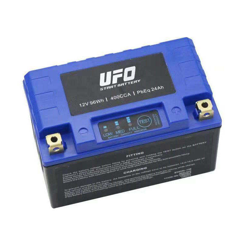 UFO Latest lithium ion motorcycle battery supply