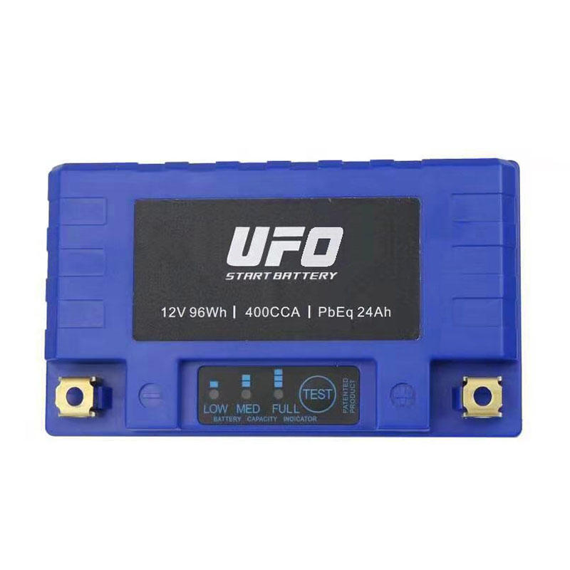 UFO Top lithium ion motorcycle battery for sale