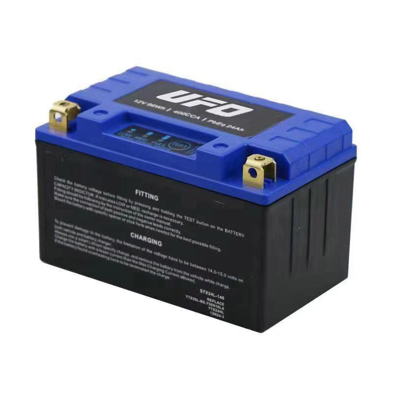UFO Top lithium ion motorcycle battery for sale-7