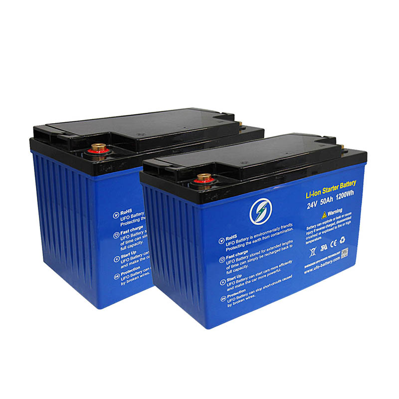 UFO Wholesale 24v lifepo4 battery supply for solar system Gel battery replacement-1