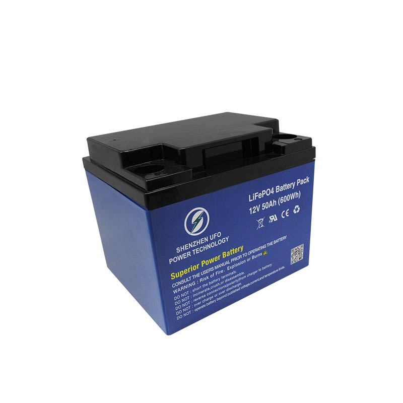 LiFePO4 lithium ion battery 12.8V50Ah for solar system Gel battery replacement-4