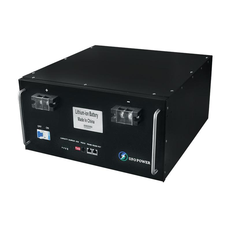UFO  LiFePO4 battery 24V50Ah for solar system Gel battery replacement 12V 24V LifePO4 Battery Pack image1