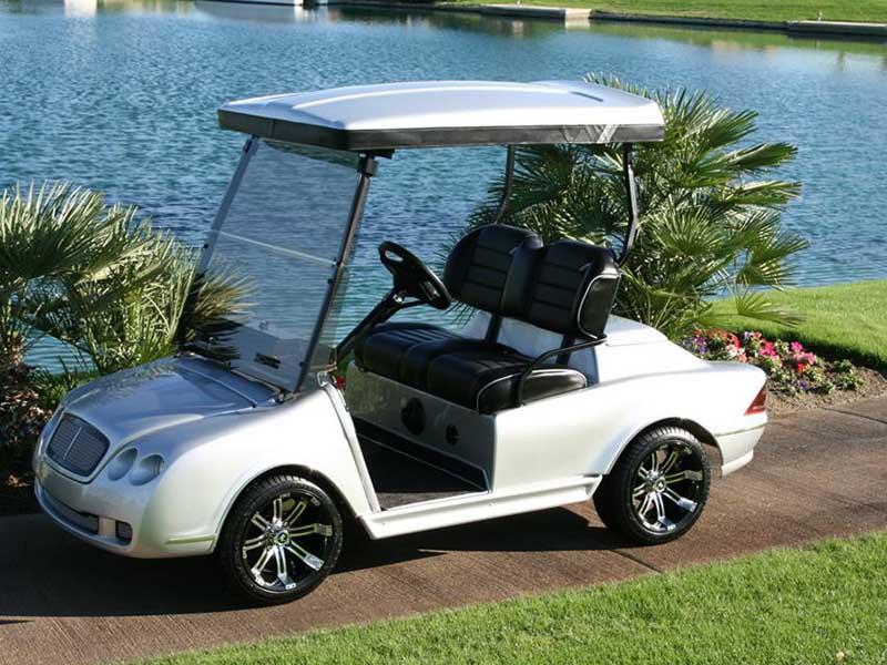 Golf cart batteries