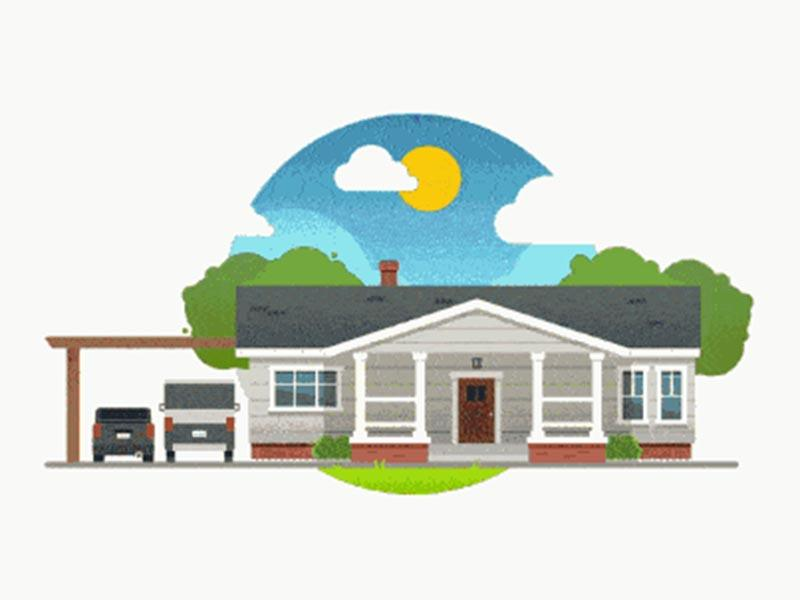 Solar battery for household energy storage