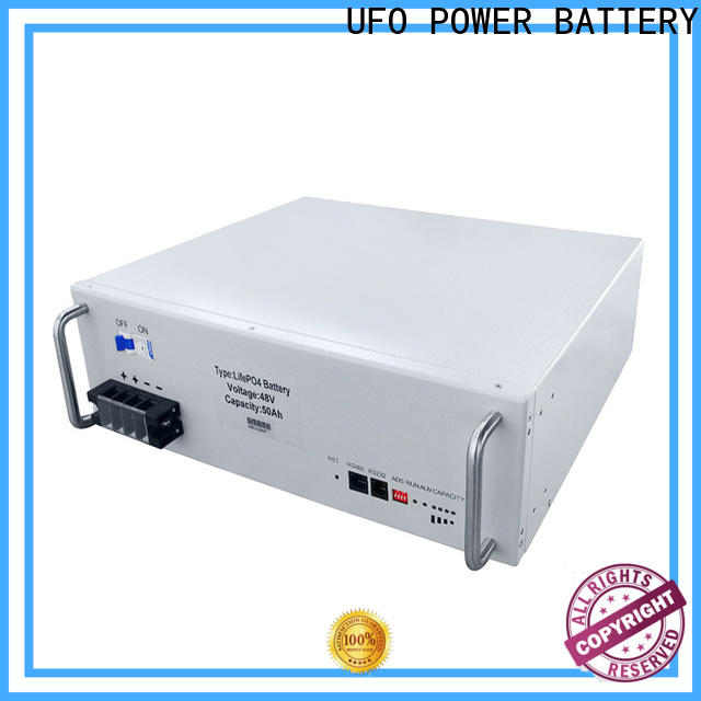 UFO lifepo4 48v lithium battery supply for sale