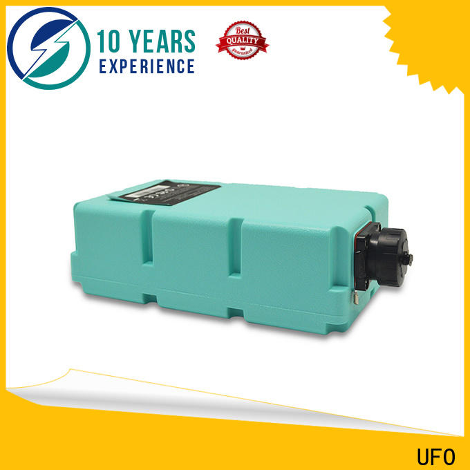 Top lithium ion power pack battery supply for medical device