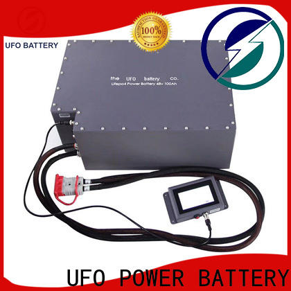 UFO Custom motive battery supply for solar system telecommunication ups agv