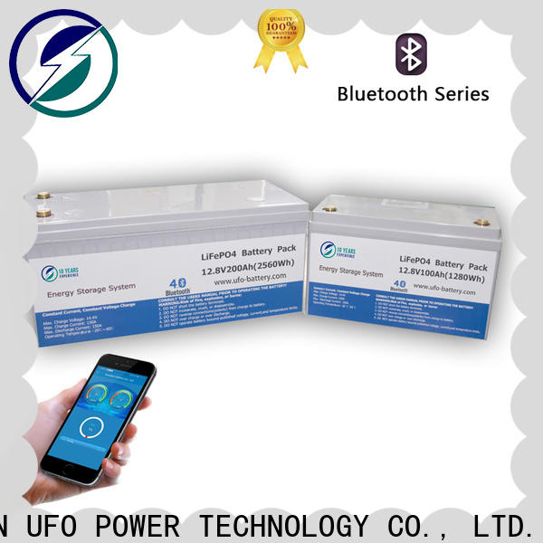 UFO system 12 volt lifepo4 battery company for solar system Gel battery replacement