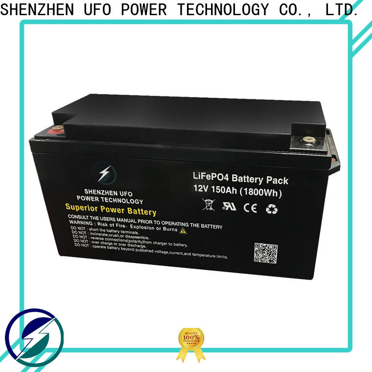 UFO Top 24v lifepo4 battery factory for solar system Gel battery replacement