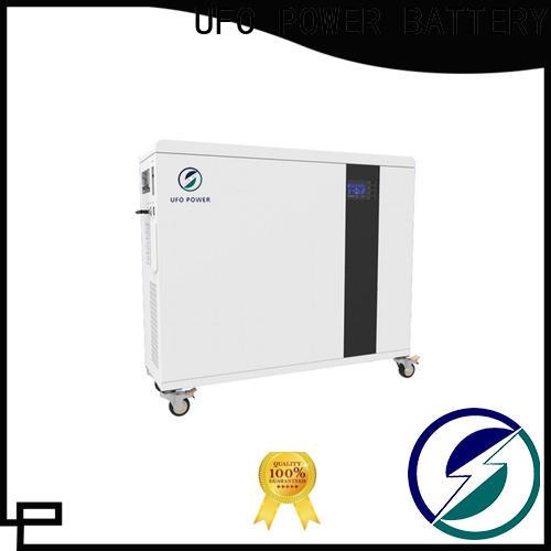 UFO 48v100ah power wall battery factory for solar system telecommunication ups
