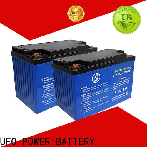 UFO Latest lifepo4 battery pack suppliers for solar system Gel battery replacement