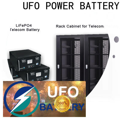 UFO battery station battery factory for solar street lamp