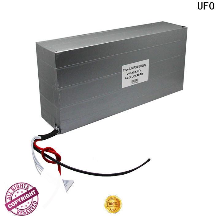 UFO 111v5ah rechargeable li ion battery pack for business for solar street light