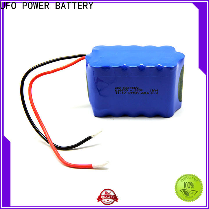 UFO Top lithium ion rechargeable battery pack factory for solar street light