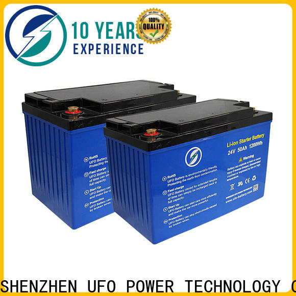 UFO High-quality 24v lifepo4 battery suppliers for alarm