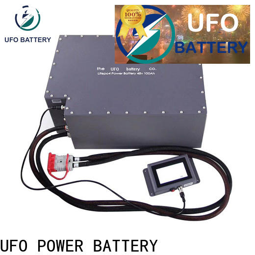 UFO Custom motive battery factory for solar system telecommunication ups agv