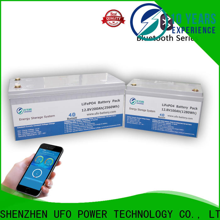 Latest lifepo4 lithium ion battery 100ah company for solar system Gel battery replacement