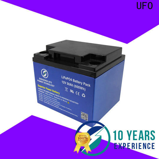 UFO Best lifepo4 battery pack supply for solar system Gel battery replacement