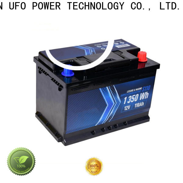 UFO starter lithium motorcycle battery company for electric cars