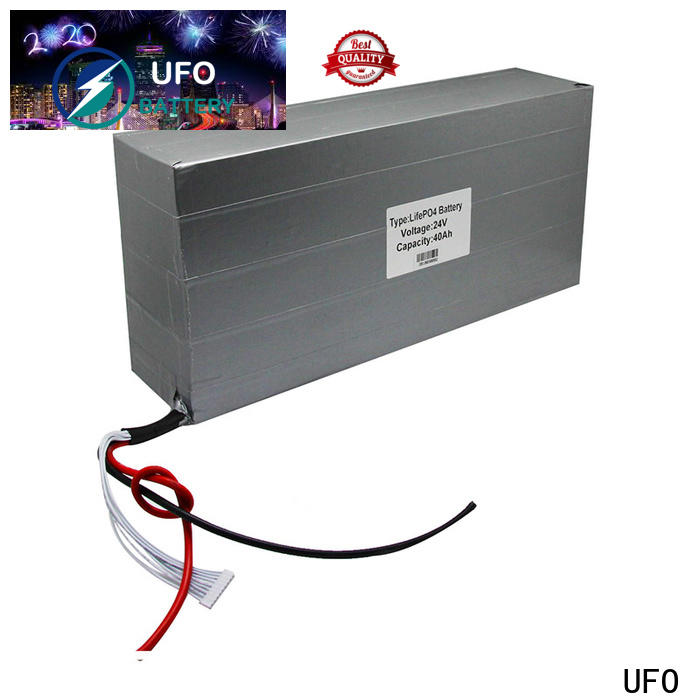 UFO High-quality rechargeable li ion battery pack company for solar street light