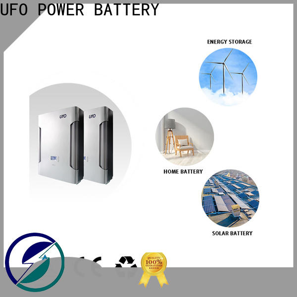 UFO Custom lifepo4 battery pack for business for solar system telecommunication ups