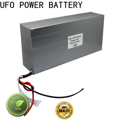 UFO New rechargeable battery pack for business for solar street light
