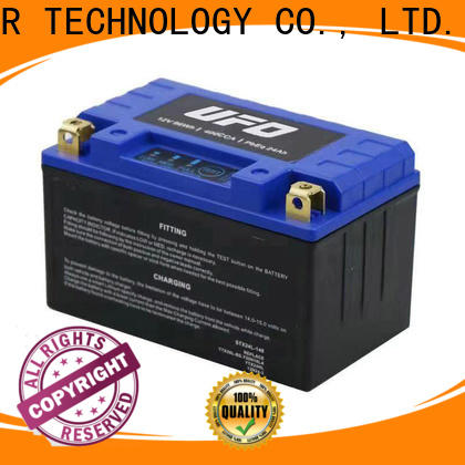 UFO starter lithium ion motorcycle battery company for sale