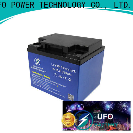 UFO Latest lifepo4 lithium battery company for alarm
