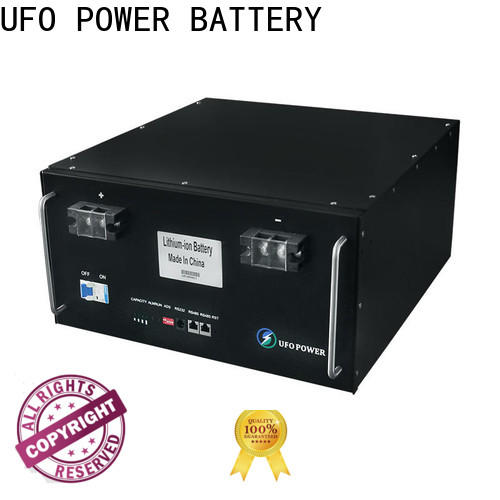 UFO Top 48v lithium ion battery company for solar street lamp