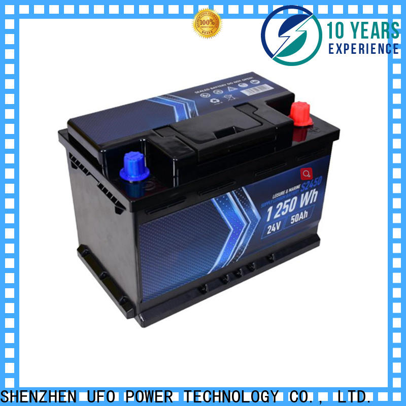 UFO Latest lithium ion starter battery factory for electric cars