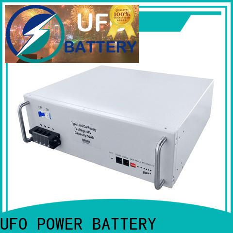 UFO 48v50ah 48v lithium ion battery for business for communication base station