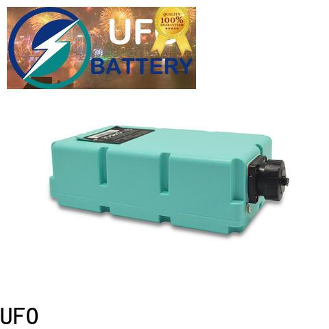 UFO 144v10ah custom made battery packs factory for signal base station