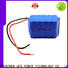New rechargeable battery pack lithium factory for sale