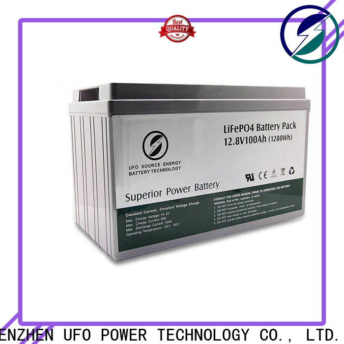 Latest lifepo4 lithium battery 24v50ah company for alarm