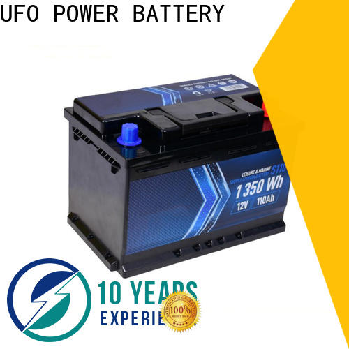 UFO starter motorcycle starter battery