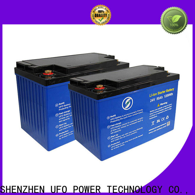 UFO 128v50ah 12v lithium iron battery company for solar system Gel battery replacement