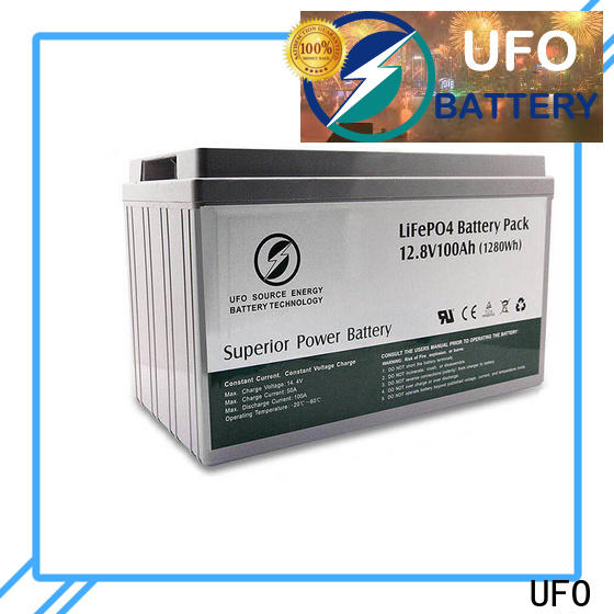UFO replacement lifepo4 battery pack factory for solar system Gel battery replacement