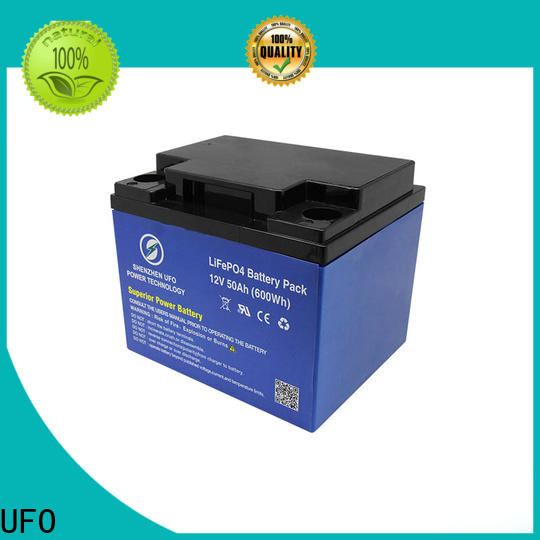 UFO system lifepo4 lithium ion battery company for solar system Gel battery replacement