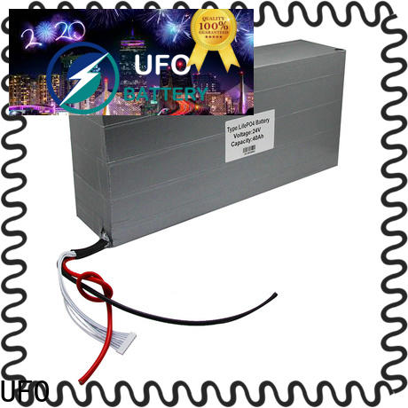 UFO New rechargeable li ion battery pack supply for solar street light