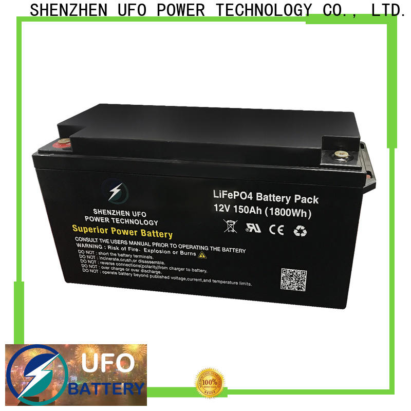 UFO system lifepo4 battery pack factory for alarm