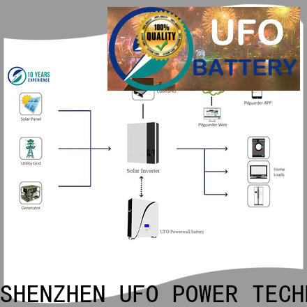 UFO 48v100ah home powerwall suppliers for solar system telecommunication ups